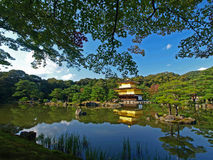 kinkakuji kyoto японии Стоковое фото RF
