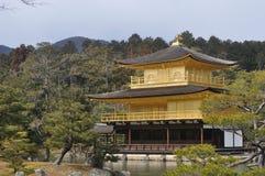 Kinkakuji, Kyoto, Giappone Fotografie Stock Libere da Diritti