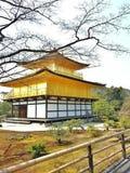 Kinkakuji landmark of Kyoto. Kinkakuji, Kyoto, Japan Royalty Free Stock Photos