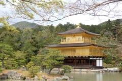 Kinkakuji at Kyoto Stock Image