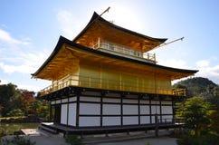 Kinkakuji liści koloru zmiana Japonia Zdjęcie Royalty Free