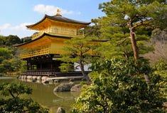 Kinkakuji, padiglione dorato; Kyoto, Giappone Immagine Stock