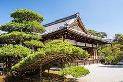 Kinkakuji (pavilhão dourado) é um templo do zen em Kyoto do norte Imagens de Stock Royalty Free