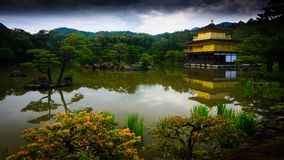 The Kinkakuji Pavillion Royalty Free Stock Photo