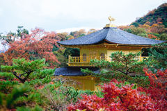 Kinkakuji is roof in kyoto Royalty Free Stock Photos
