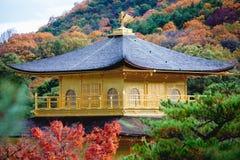 Kinkakuji's roof,gold temple japan Royalty Free Stock Images
