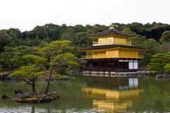 Kinkakuji Tempel Stockfotos
