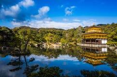 Kinkakuji-Tempel Lizenzfreie Stockfotos