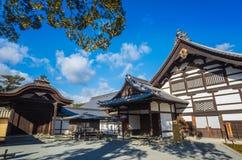 Kinkakuji tempel Royaltyfri Fotografi