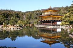 Kinkakuji tempel 库存图片