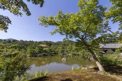 Kinkakuji Tempel Lizenzfreies Stockfoto