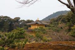 Kinkakuji tempel Royaltyfri Foto