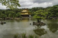 Kinkakuji (tempio dorato) Immagini Stock Libere da Diritti