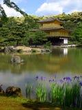 Kinkakuji temple. In Kyoto japan Stock Images