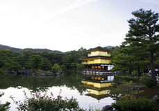 Kinkakuji Temple, aka The Golden Pavilion Stock Images