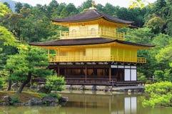 Kinkakuji. Temple of the deer garden, in Kyoto, Japan. It was originally built in 1397 Royalty Free Stock Photo