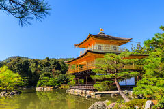 Kinkakuji temple, gold temple Royalty Free Stock Image