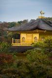 Kinkakuji temple golden pavilian Stock Photography