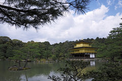Kinkakuji Temple Golden Pavilion Kyoto Royalty Free Stock Photography