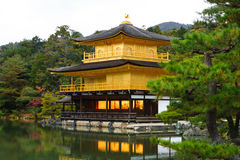 Kinkakuji Temple (Golden Pavilion) Royalty Free Stock Photos