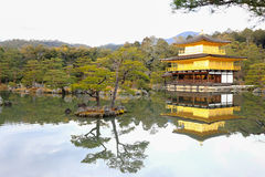 Kinkakuji Temple (The Golden Pavilion) Stock Photos