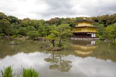 Kinkakuji Temple(Golden Pavilion) Royalty Free Stock Images