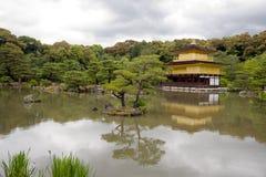 Kinkakuji Temple(Golden Pavilion) Royalty Free Stock Images