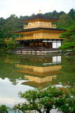 Kinkakuji Temple (The Golden Pavilion) in Japan Stock Photography
