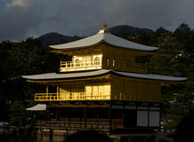 Kinkakuji temple. Golden Pavilion in Kyoto Stock Photos