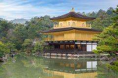 Kinkakuji Temple The Golden Pavilion in Kyoto, Japan Royalty Free Stock Images