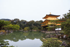 Kinkakuji Temple. (The Golden Pavilion) in Kyoto, Japan Royalty Free Stock Photo