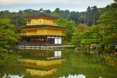 Kinkakuji Temple (The Golden Pavilion) in Kyoto Stock Image