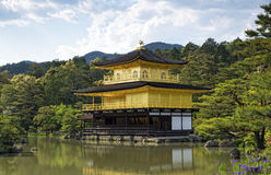 Kinkakuji Temple (The Golden Pavilion) in Kyoto Stock Photography