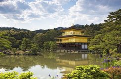 Kinkakuji Temple (The Golden Pavilion) in Kyoto, Japan Royalty Free Stock Image