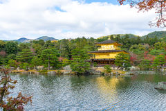 Kinkakuji Temple or the Golden Pavilion in Kyoto Stock Images