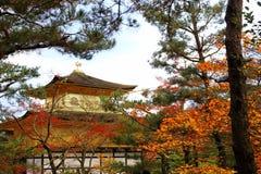 Kinkakuji Temple (The Golden Pavilion) in Kyoto Royalty Free Stock Photos