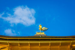Kinkakuji Temple  The Golden Pavilion in Kyoto, Japan. Royalty Free Stock Images
