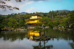Kinkakuji Temple The Golden Pavilion - Kyoto, Japan Royalty Free Stock Photography