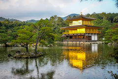 Kinkakuji Temple The Golden Pavilion - Kyoto, Japan Stock Images