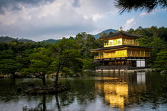 Kinkakuji Temple The Golden Pavilion - Kyoto, Japan Stock Photos