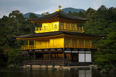 Kinkakuji Temple The Golden Pavilion - Kyoto, Japan Stock Photography