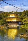 Kinkakuji Temple (The Golden Pavilion) in Kyoto Stock Photos