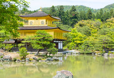 Kinkakuji Temple  The Golden Pavilion in Kyoto, Japan Royalty Free Stock Photography