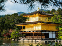Kinkakuji Temple (The Golden Pavilion) in Kyoto, Japan Royalty Free Stock Photos