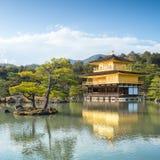Kinkakuji Temple (The Golden Pavilion) in Kyoto, Japan Stock Photo