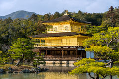 Kinkakuji Temple (The Golden Pavilion) in Kyoto, Japan Royalty Free Stock Photography