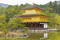 Kinkakuji Temple (The Golden Pavilion) in Kyoto, Japan. Royalty Free Stock Photography