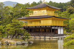 Kinkakuji Temple (The Golden Pavilion) in Kyoto, Japan. Stock Photos