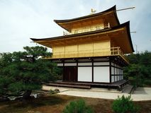 Kinkakuji Temple (The Golden Pavilion) in Kyoto, Japan Royalty Free Stock Images
