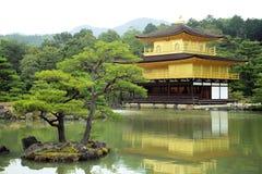 Kinkakuji temple or the Golden Pavilion, Kyoto, Japan. Royalty Free Stock Image